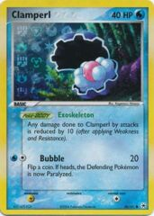 Clamperl - 58/101 - Common - Reverse Holo