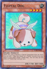 Fluffal Dog - FUEN-EN016 - Super Rare - Unlimited Edition