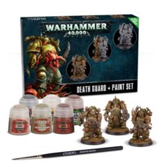 Warhammer 40,000 - Death Guard + Paint Set