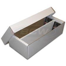 BCW 2000 Count Storage Box