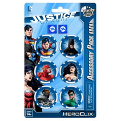 DC HeroClix: Justice League Trinity War Dice and Token Pack