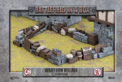 BB591 - Wartorn Village - Barricades