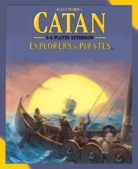 Catan: Explores & Pirates 5-6 Player Expansion 5th Edition