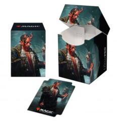 Kaldheim 100+ Deck Box featuring Tibalt, Cosmic Imposter for Magic: The Gathering