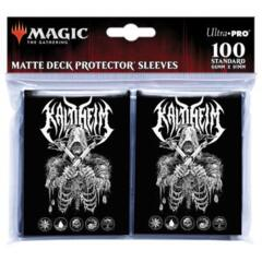 Kaldheim 100ct Sleeves featuring Metal Alt Art for Magic: The Gathering