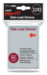 Ultra Pro - Small - 100ct - PRO-FIT - Side Load Sleeves - Clear