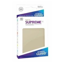 Ultimate Guard - Standard - 80ct - Supreme UX Sleeves - Matte - Sand