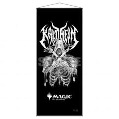 Kaldheim Wall Scroll featuring Metal Alt Art for Magic: The Gathering