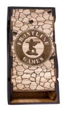 HIckory Dice Tower - Fighter Box Type - Grey Felt
