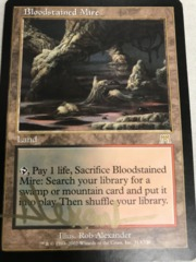 Bloodstained Mire - Signed - Gold Ink