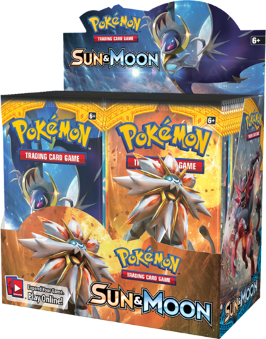 Sun & Moon - Booster Box