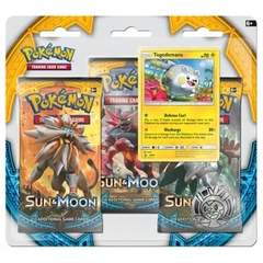 Pokemon - Sun and Moon 3 Booster Blister (Togedemaru)
