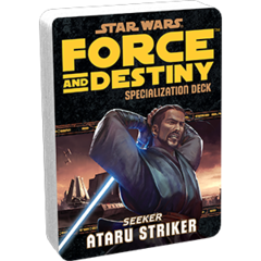 Star Wars:  Force and Destiny - Artaru Striker Specialization Deck