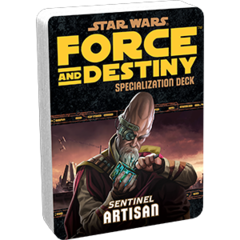 Star Wars:  Force and Destiny - Artisan Specialization Deck