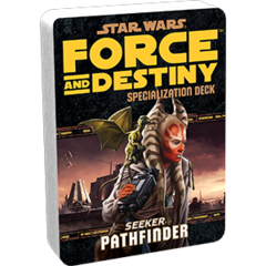 Star Wars:  Force and Destiny - Pathfinder Specialization Deck