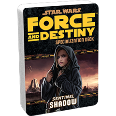 Star Wars:  Force and Destiny - Shadow Specialization Deck