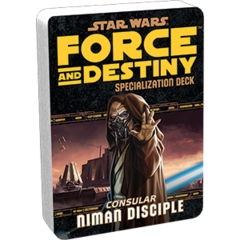 Star Wars:  Force and Destiny - Niman Disciple