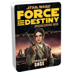 Star Wars:  Force and Destiny - Sage