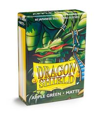 Dragon Shield - Small - 60ct - Matte - Apple Green
