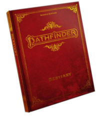 Pathfinder - Bestiary - Second Edition -(Special Edition)