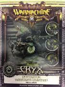 Cryx Desecrator Harrower Levithan