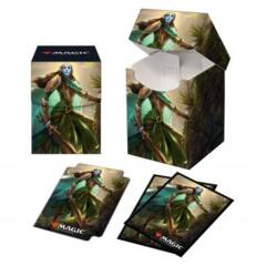 Kaldheim Combo 100+ Deck Box and 100ct sleeves featuring Lathril, Blade of the Elves for Magic: The Gathering