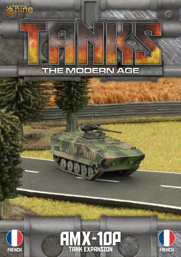 Tanks - The Modern Age - AMX-10P - Tank Expansion - French