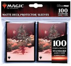 Ultra Pro - MTG: Innistrad: Midnight Hunt ChromaFusion 100ct Sleeves X - UPR18828