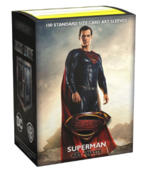 Dragon Shield - Standard - 100ct - Art Matte - Justice League Superman