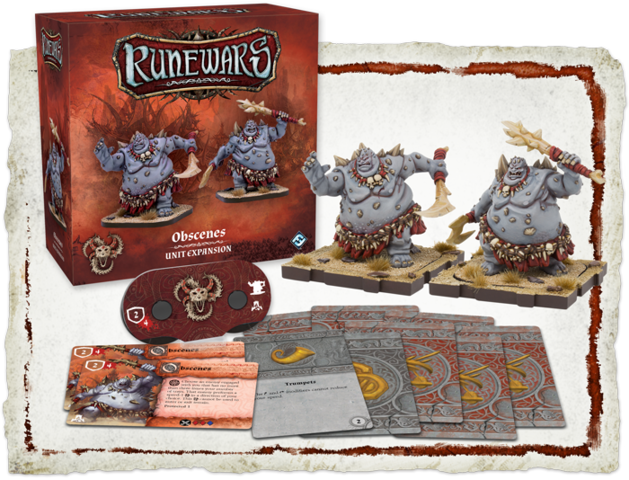 Runewars: Obscenes Unit Expansion
