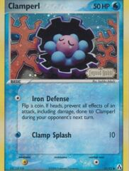 Clamperl - 51/92 - Common - Reverse Holo