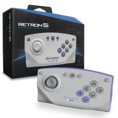 Bluetooth Wireless Controller for RetroN 5 (Gray)