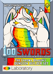 100 Swords: The Chroma Dragon's Dungeon Builder Set 3