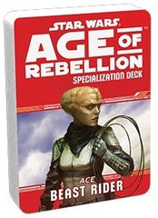 Star Wars: Age of Rebellion - Specialization Deck - Ace Beast Rider