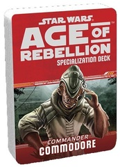Star Wars: Age of Rebellion - Specialization Deck - Commander Commodore