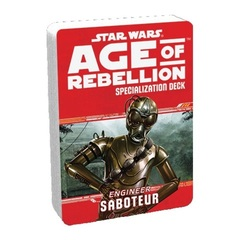 Star Wars: Age of Rebellion - Specialization Deck - Engineer Saboteur