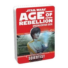 Star Wars Age of Rebellion Specialization Deck - Engineer Scientist