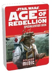 Star Wars Age of Rebellion Specialization Deck - Soldier Medic