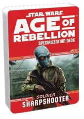 Star Wars Age of Rebellion Specialization Deck - Soldier Sharpshooter