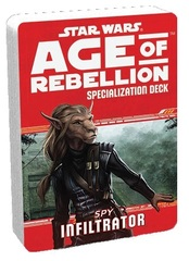 Star Wars Age of Rebellion Specialization Deck - Spy Infiltrator