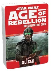 Star Wars Age of Rebellion Specialization Deck - Spy Slicer