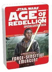 Star Wars Age of Rebellion Specialization Deck - Universal Force-Sensitive Emergent