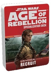 Star Wars Age of Rebellion Specialization Deck - Universal Recruit