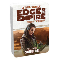 Star Wars: Edge of the Empire - Specialization Deck - Colonist Scholar