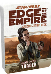 Star Wars: Edge of the Empire - Specialization Deck - Explorer Trader