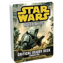 Star Wars: Roleplaying Game - Characters - Critical Injury Deck
