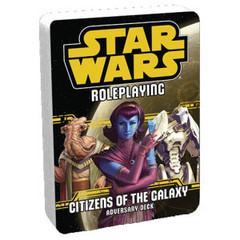 Star Wars: Roleplaying Game - Citizens of the Galaxy - Adversary Deck