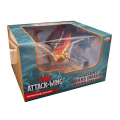 Attack Wing: Dungeons and Dragons - Premium Ancient Brass Dragon Figure