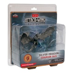 Attack Wing: Dungeons and Dragons - Wave Eight: Premium Silver Dragon