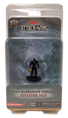 Attack Wing: Dungeons and Dragons - Wave Nine: Human Barbarian (Fire Cult)